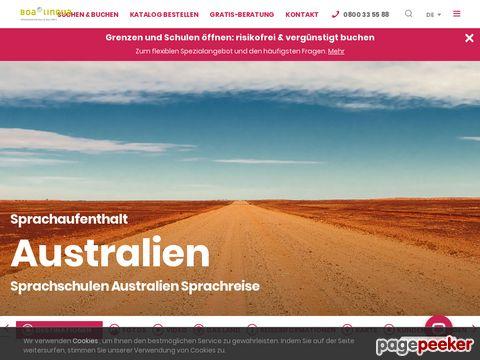 Sprachaufenthalt Australien, Australien-Portal - Informationen, News und Wissenswertes über Down Under Australien