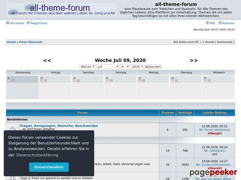 allthemeforum ein forum für 40+