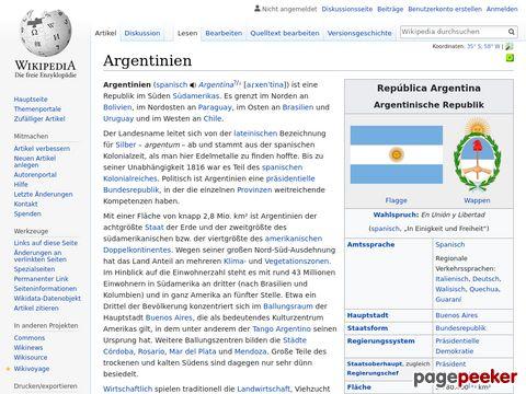 Argentinien - Wikipedia