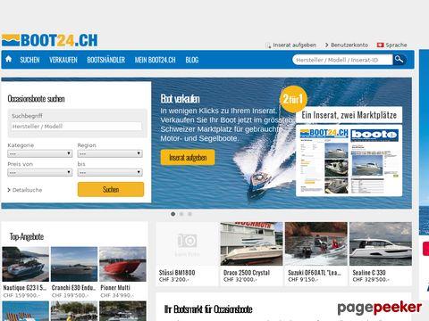 boot24.ch - Grösster Schweizer Bootsmarkt für Boote, Occasionsboote