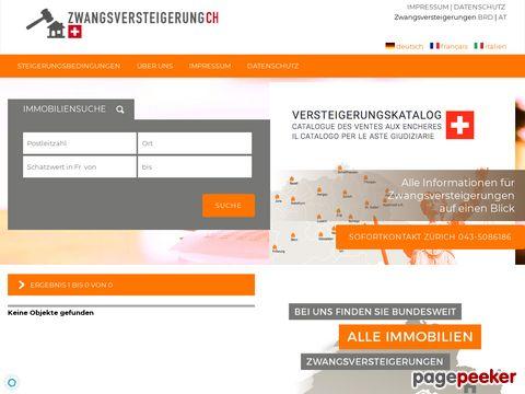 zwangsversteigerung.ch - Zwangsversteigerungskataloge Schweiz