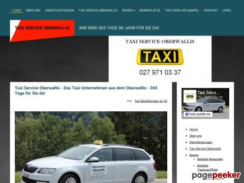 Taxi Service Oberwallis - 24/7 für Sie da