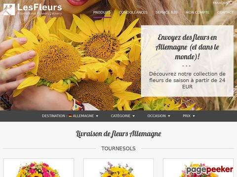 lesfleurs.ch - International Flowers Delivery - Directory