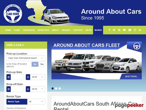 aroundaboutcars.com - Car Hire Cape Town | Car Rental South Africa