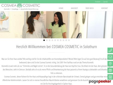 cosmeacosmetic.ch - visagistin, wellness solothurn