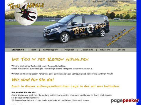 taxi-haexli.ch - Taxi Stans