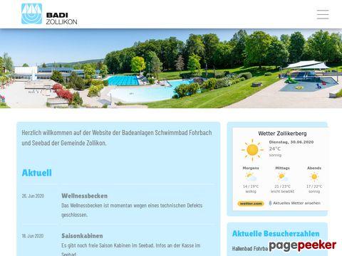 Schwimmbad Fohrbach - Zollikon ZH
