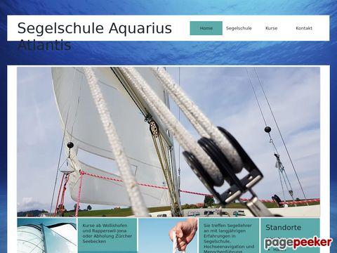 aquarius-atlantis.ch - Segelschule in Zürich Enge