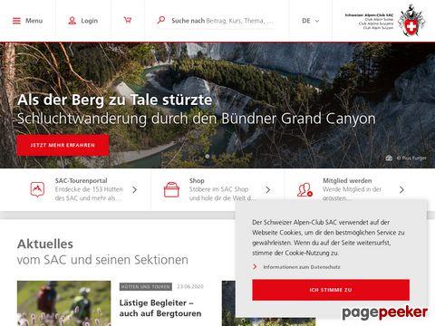 Schweizer Alpen-Club SAC / CAS