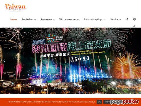 Taipei Tourism Office - Deutsprachiges Informationsportal über Taiwan !