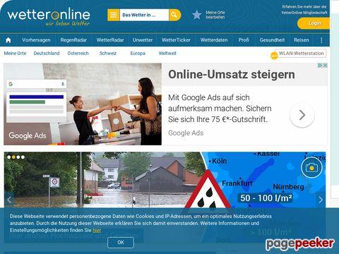 Eurowetter online