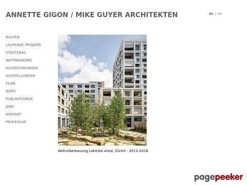 gigon-guyer.ch - Gigon / Guyer Architekten