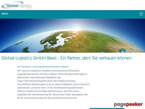global-logistics.ch - global logistics GmbH