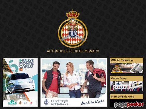Rallye Monte Carlo - ACM - Automobile club de Monaco