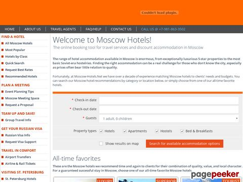 moscow-hotels.net - Moscow Hotel Guide