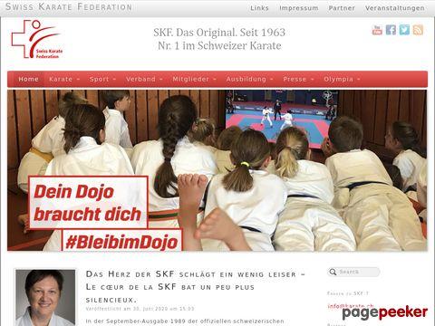 Swiss Karate Federation (SKF) - Der Verband für Karate in der Schweiz