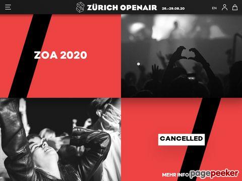 OpenAir Zürich - Das Openair-Festival auf dem Hönggerberg (Zürich)