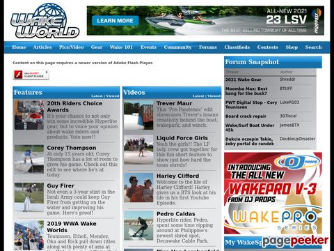 WakeWorld Online Wakeboarding Magazine