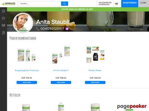 HERBALIFE - Produkte Online Bestellshop Schweiz