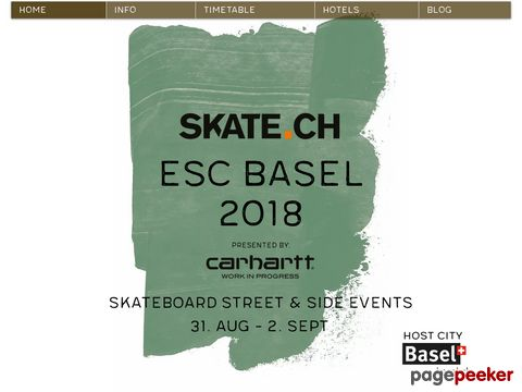 skateboardeurope.com - Information about skateboarding and skateboard events in Europe