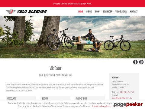 Velo Elsener - Bikeshop & Racing Team - Zürich
