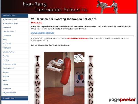 Hwa-Rang Taekwondo Schwerin