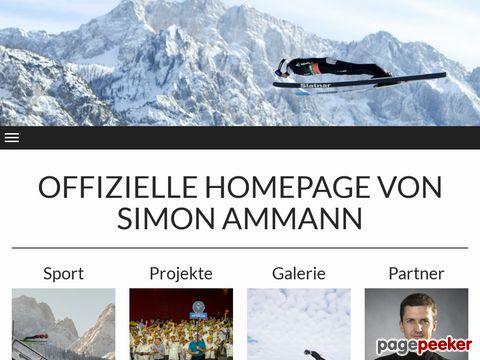 Simon Ammann - Weltmeister und Olympiasieger - Skispringen (Schweiz)
