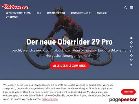 thoemus.ch - Thömus Veloshop - Schweizer Bike-Produzent