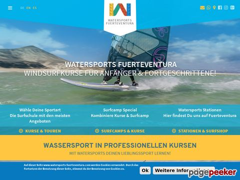 WaterSports Fuerteventura Windsurf Wellenreiten Surf Schule (Fuerteventura)