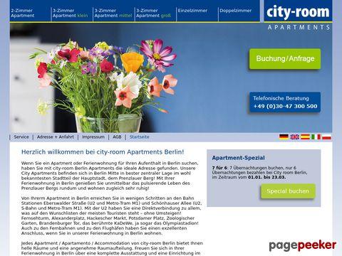 Ferienwohnung Berlin - Apartments, Zimmer