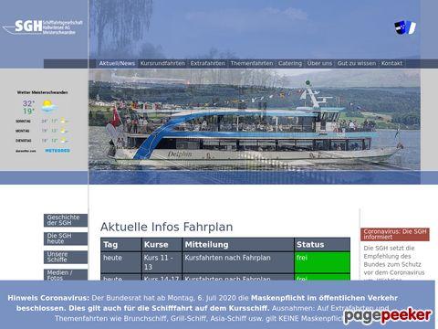 Schifffahrtgesellschaft Hallwilersee