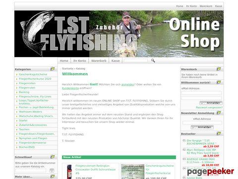 T.ST. FLY-FISHING FLIEGENFISCHER-, FLIEGENBINDE ONLINE-SHOP