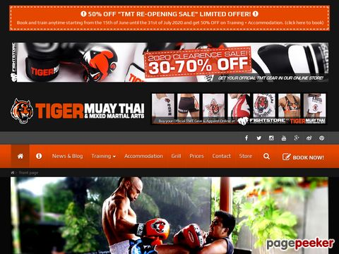 Tiger Muay Thai & MMA Training Camp in Phuket, Thailand