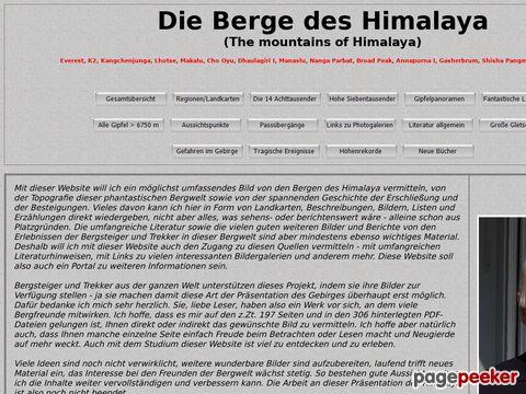 himalaya-info.org - Infos über die Berge des Himalaya