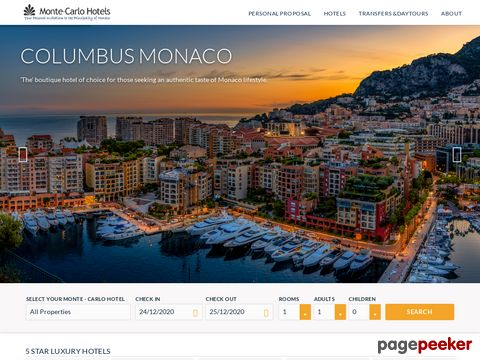 Monte Carlo Hotels, Monaco, discounted hotel rates