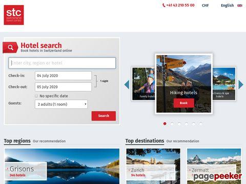 swisshotels.com - Der offizielle Hotelführer der Schweiz!