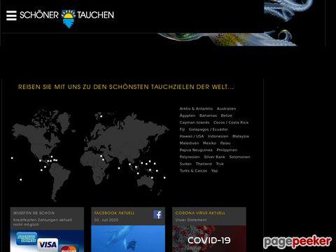 schoener-tauchen.ch - Tauchen Reisen Tauchreisen Tauchurlaub Tauchsafaris