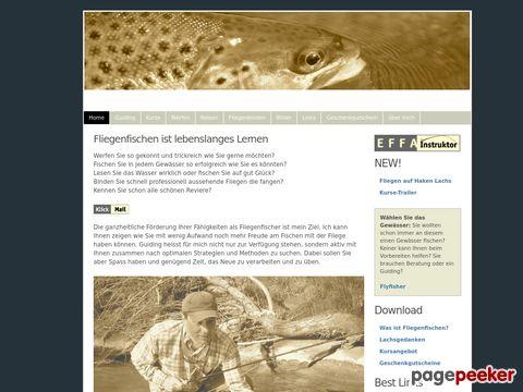 Flyfisher.ch - Fliegenfischen-Kurse