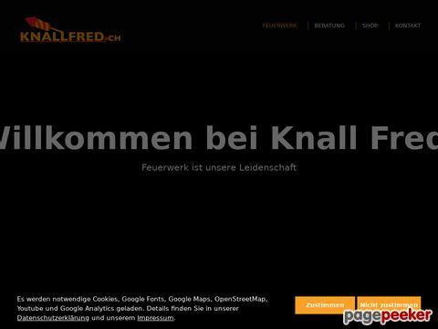 Feuerwerk Schweiz - Ihr persönliches Feuerwerk