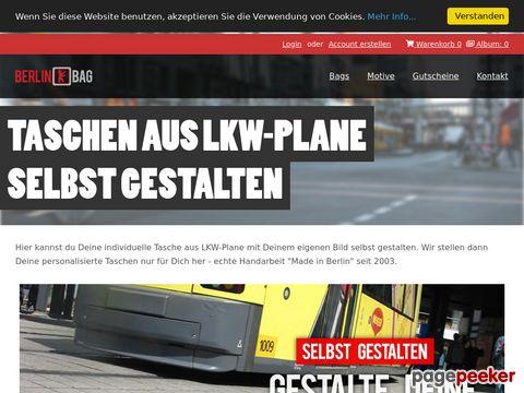 berlinbag.com - Taschen aus LKW-Plane