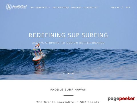 Paddle Surf Hawaii