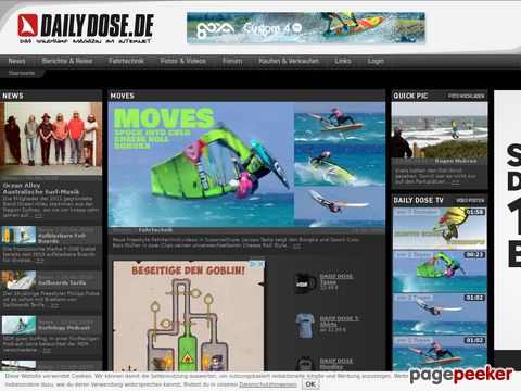 the-daily-dose.com - Windsurf- und Wellenreit-Magazin