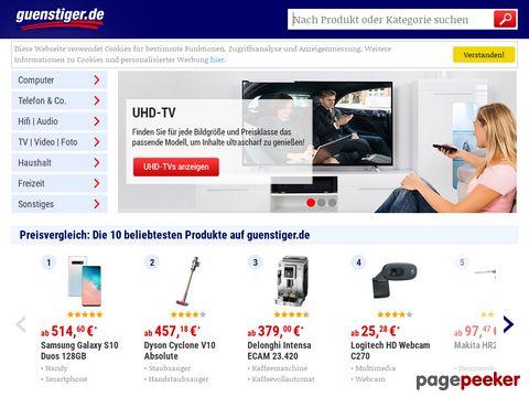 guenstiger.de - Der grosse Preisvergleich im Internet