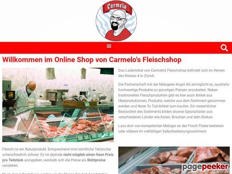 carmelo-shop.ch - Carmelos Fleischshop