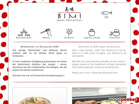 BIMI Japan-Restaurant - lernen Sie die japanische Esskultur näher kennen...