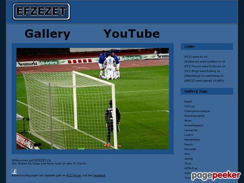 EFZEZET.CH # Fotos und Filme rund um den FC Zürich