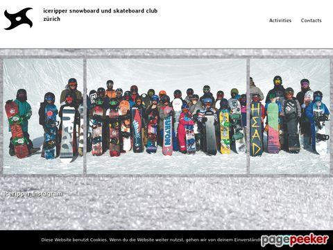 iceripper.com - Jährliche Snowboardmesse / Snowboardflohmarkt in Zürich
