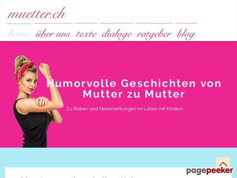 Onlinekolumne von Müttern für Mütter