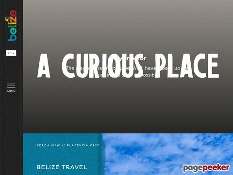 travelbelize.org - activities, interests, destinations, tour