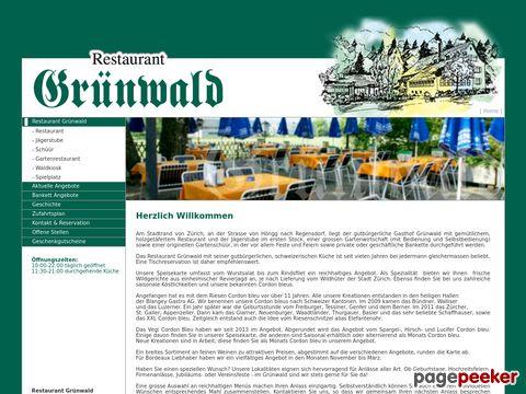 Restaurant - Grünwald (Zürich-Höngg)